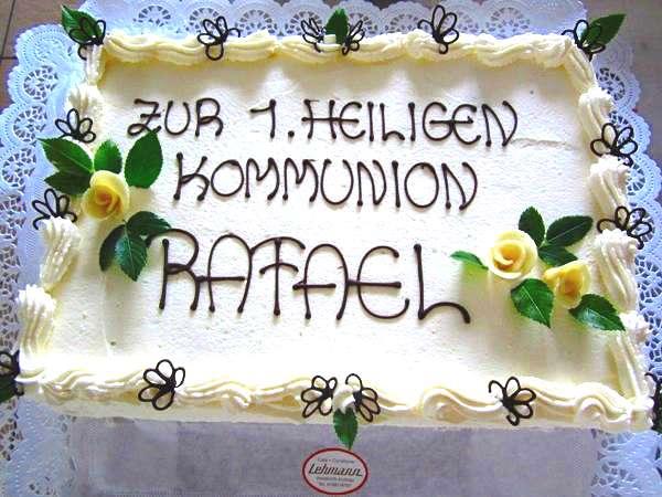 Bilder Mit Torten Zur Kommunion Amp Taufe Konditorei Cafe