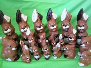 schokoladen osterhasen in waldkirch kollnau