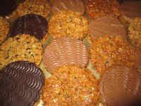 Schokoladen Florentiner