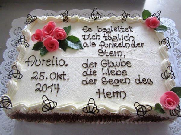 Kommunion Torte Fur Madchen Konditorei Cafe Lehmann